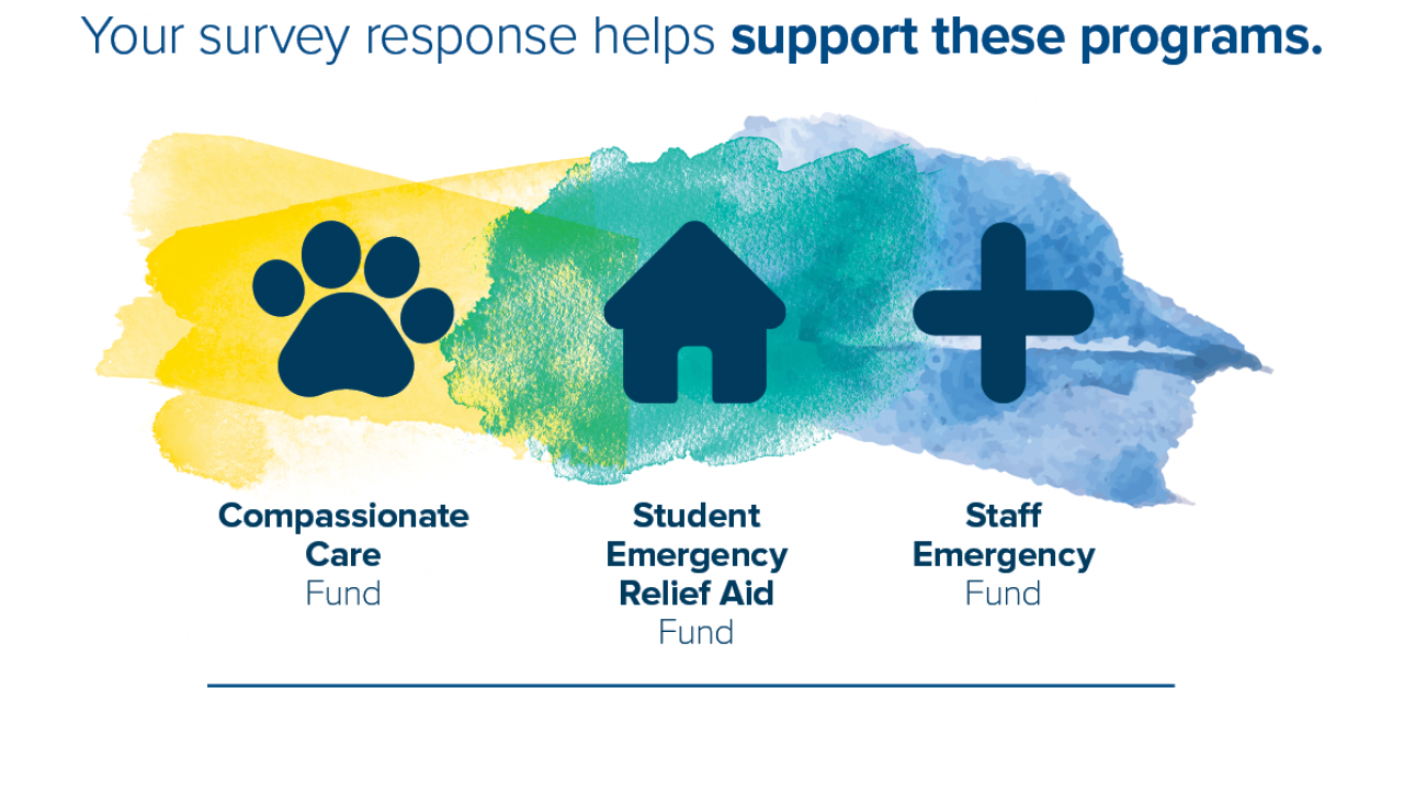 compassionate care fund, student and staff emergency funds
